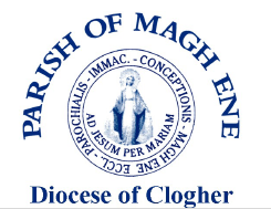 Stamp of the Parish of Magh Ene